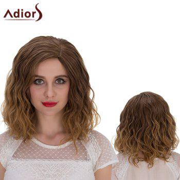 Adiors Medium Side Parting Shaggy Curly Cosplay Synthetic Wig