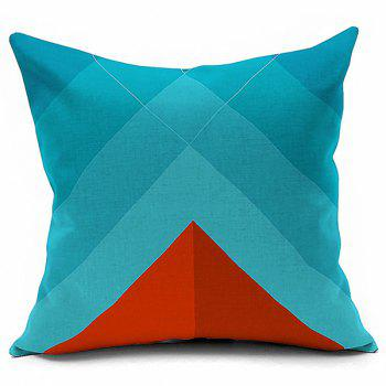 Geometry Printed Cushion Linen Throw Pillowcase