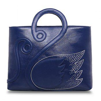 PU Leather Swan Handbag