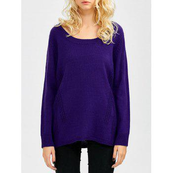 Scoop Neck Relaxed Sweater