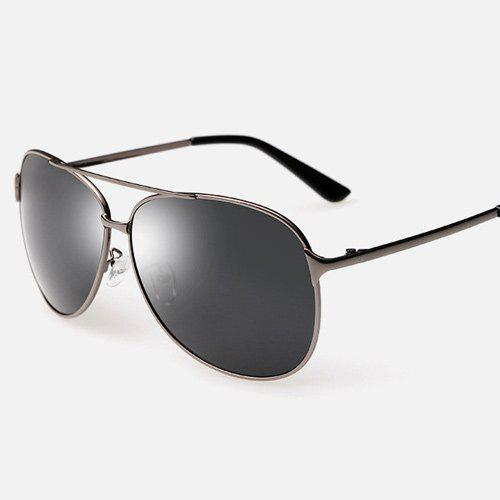 Cross-Bar Pilot Sunglasses Métal - Métal Pistolet