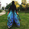 Butterfly Wing Cape Pashmina - BLUE
