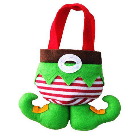 Christmas Santa Gift Candy Bag - RED/GREEN