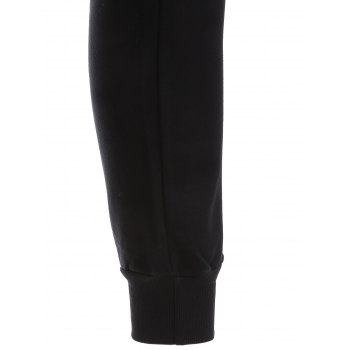 High Low Slit Top with Jogger Pants - M M