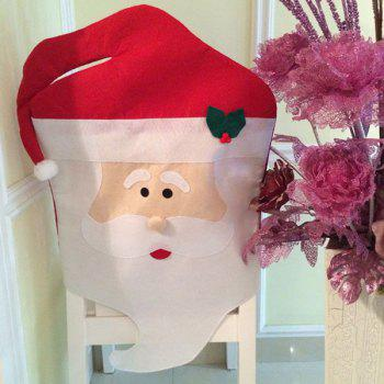 Christmas Table Decor Mr Santa Chair Back Cover