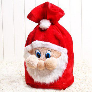 Christmas Santa Claus Plush Gift Bag