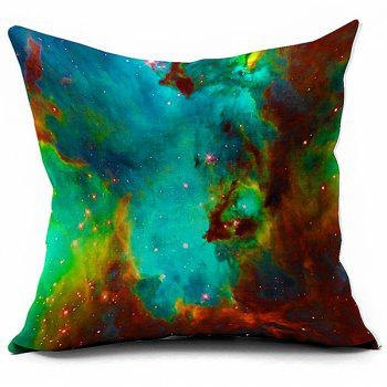 Galaxy Space Design Sofa Cushion Bed Throw Pillowcase