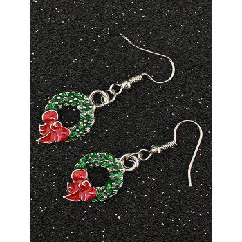 Christmas Garland Drop Earrings