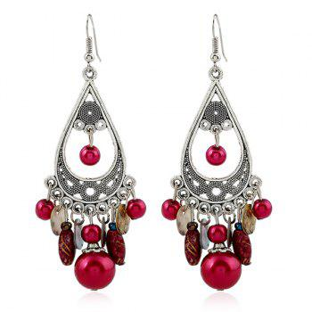 Teardrop Beads Drop Earrings
