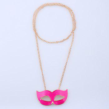 Mask Sweater Chain - GOLDEN