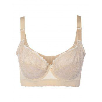 Embroidery Padded Bra