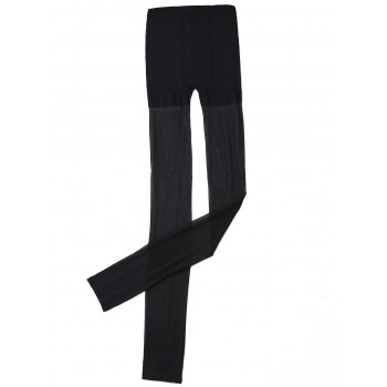 Slim Fit Sheer Stirrup Leggings