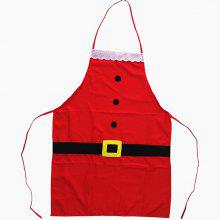 Christmas Kitchen Decor Santa Claus Apron