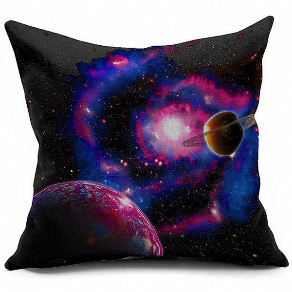 Universe Galaxy Space Home Decorative Linen Pillowcase, COLORMIX in Decorative Pillows & Shams ...