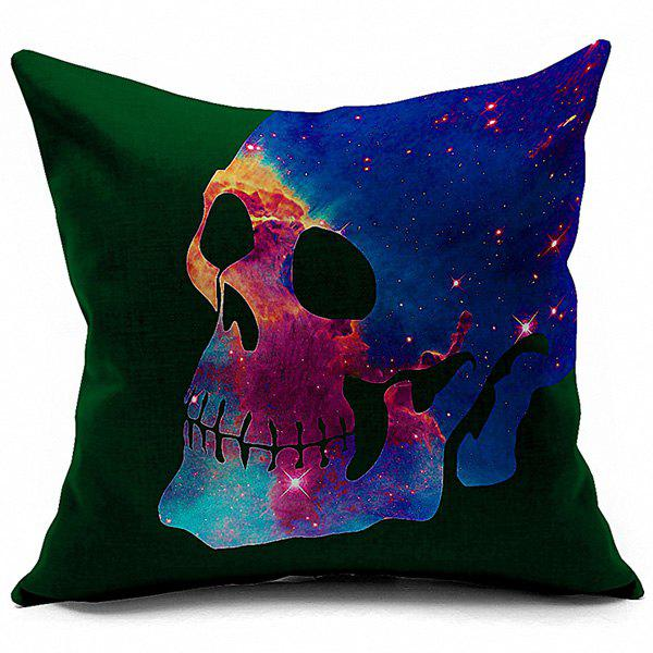 Throw Pillow Method Space Faerie : Skull Galaxy Space Home Decorative Linen Pillowcase, COLORMIX in Decorative Pillows & Shams ...