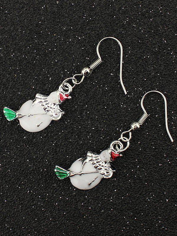 Christmas Snowman EarringsJewelry<br><br><br>Color: SILVER