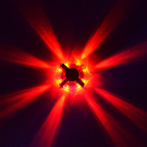LED Hub Night Riding Bicycle Tyre Wheel Lamp - RED