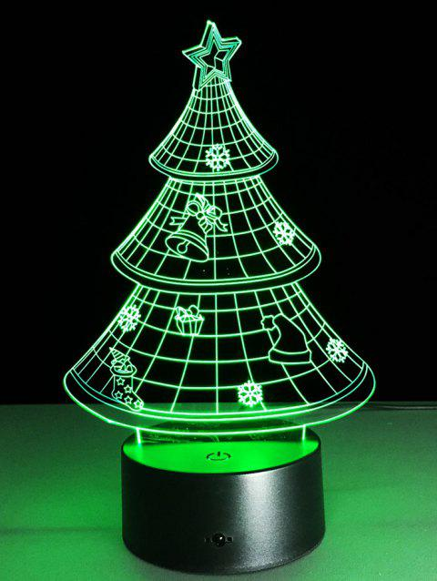 17 Off 2019 Festival 3d Christmas Tree Shape Touch