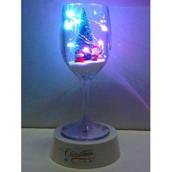 Color Changing USB Merry Christmas Goblet Cup LED Night Light