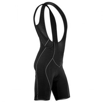 Men's High Quality Breathable 3D Cushion Pad Cycling Bib Shorts - M M