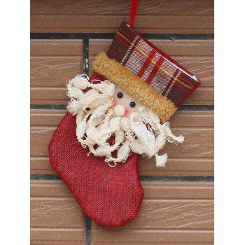Santa Hanging Stocking Present Sock Christmas Decor