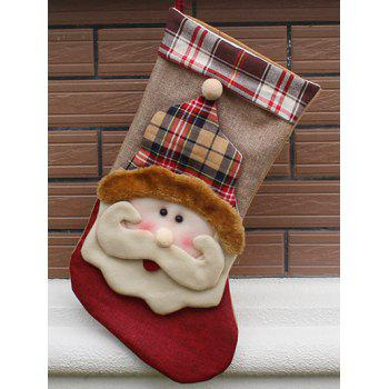 Christmas Santa Design Hanging Gift Sock Xmas Tree Decor