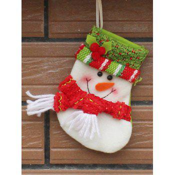 Christmas Snowman Hanging Gift Sock Xmas Tree Party Decor