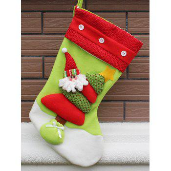 Party Decor Christmas Santa Hanging Present Stocking Bag
