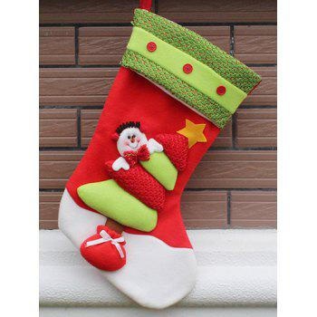 Xmas Tree Party Decor Christmas Snowman Hanging Gift Sock