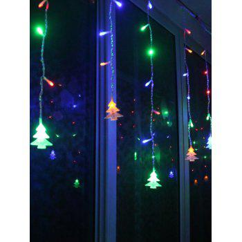 Christmas Tree Pendant LED String Light Indoor Room Decoration - COLORFUL