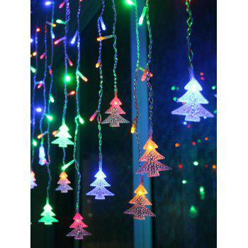 Christmas Tree Pendant LED String Light Indoor Room Decoration