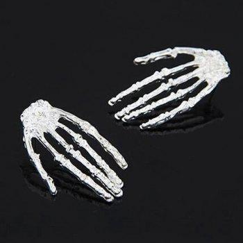 Skeleton Hand Shape Earrings