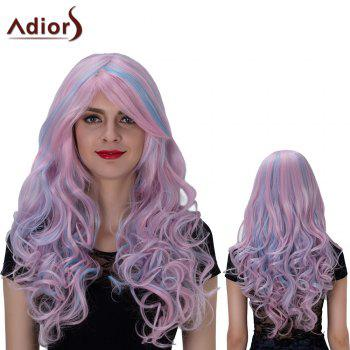 Adiors Long Side Bang Colormix Layered Wavy Film Character Synthetic Wig