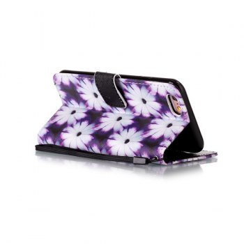 Floral PU Leather Card Slot Wallet Flip Case For iPhone 6S - FOR IPHONE 6 / 6S FOR IPHONE 6 / 6S