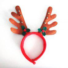 Christmas Hair Band Cartoon Antlers Head Hoop Buckle