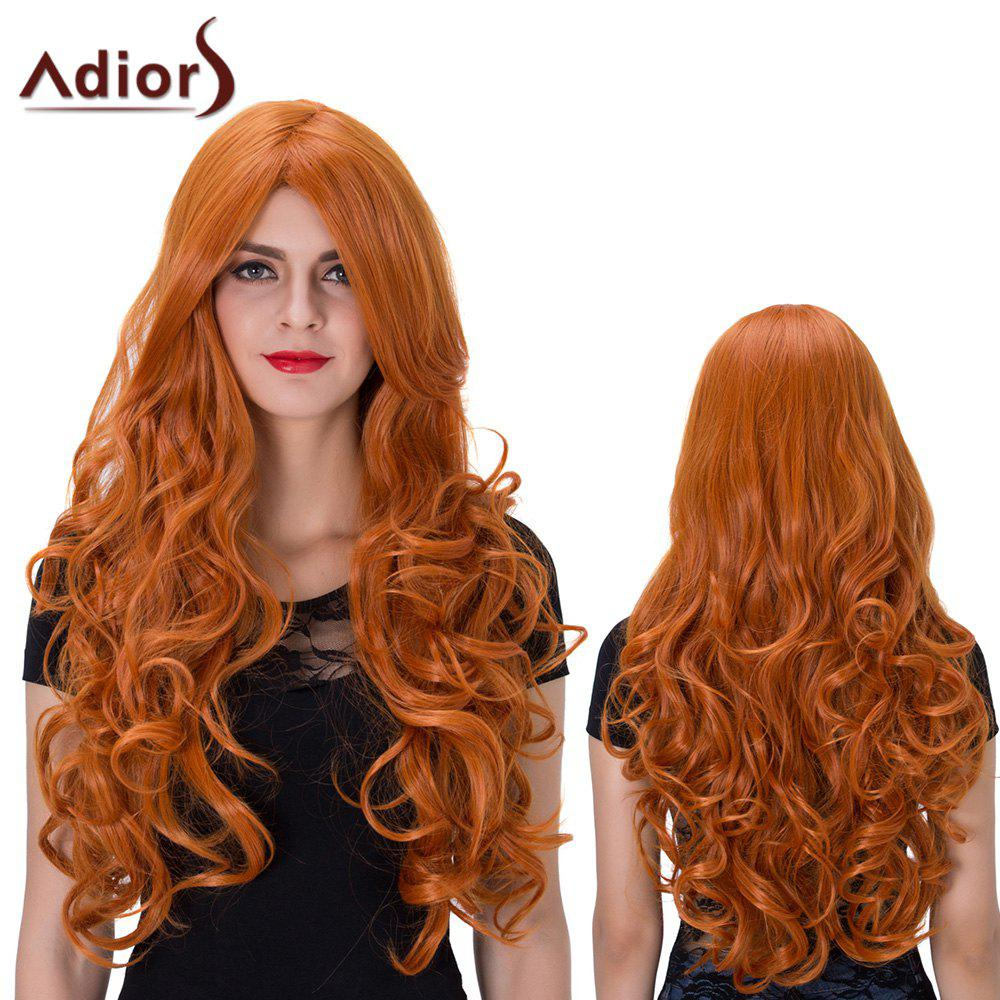 Adiors Middle Parting Long Shaggy Wavy Film Character Cosplay Synthetic Wig