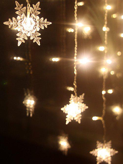 2018 Christmas Party Home Decor Snowflake Pendant Led String Light