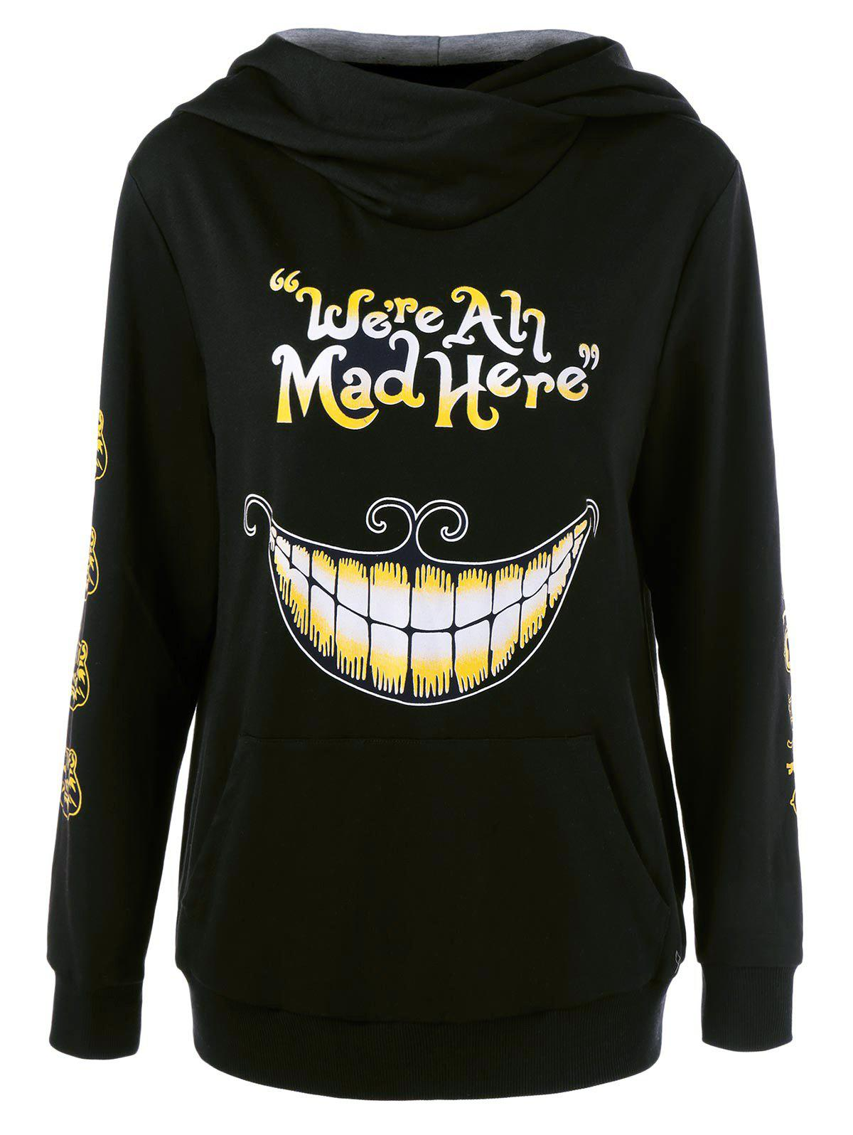 We Are All Mad Here Hoodie you are here