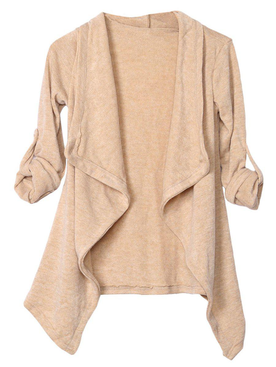 for plus open befu reg draped cardigan itm sweater front drapes short flyaway sleeve women
