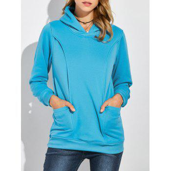 Pullover Maternity Hoodie with Pockets