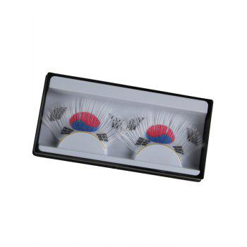 South Korean Flag Pattern False Eyelashes