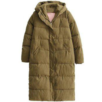 Hooded Padded Puffer Coat