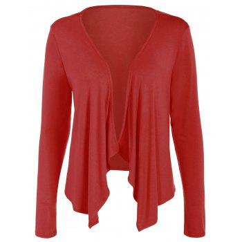 Short Sleeve Red Cardigan Cheap Casual Style Online Free Shipping ...
