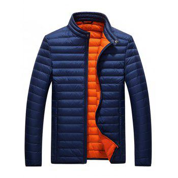 Buy Stand Collar Packable Jacket DEEP BLUE