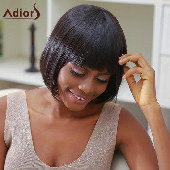 Adiors Hair Short Straight Bob Style Synthetic Wig
