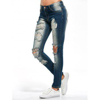 Skinny Distressed Jeans