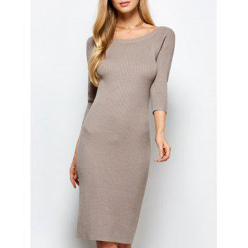Ribbed Bodycon Dress