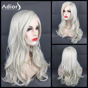 Adiors Long Layered Side Parting Christmas Party Wavy Synthetic Wig