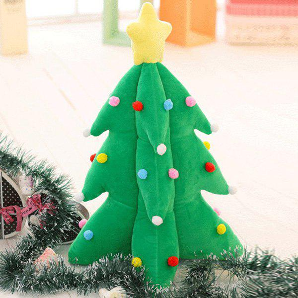 Christmas Tree Cushion Flash Plush Stuffed Doll candice guo super cute plush animal doll small dog puppy big ear papa lay down stuffed toy birthday gift christmas present 1pc