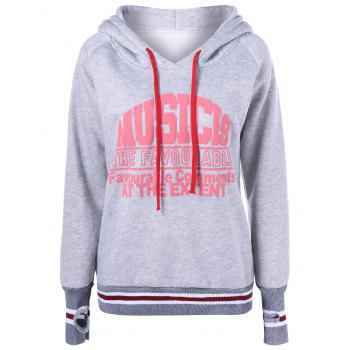 Fleece Graphic Pullover Hoodie